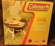 New Coleman Road Trip Perfect Flow Instastart Party Grill Model 9940-7755