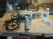 Vintage Milwaukee Heavy Duty Electric Drill C-338. Made In The Usa. Collectible.