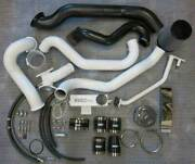 Wc Fab Twin Turbo Kit S400/stock For 2004.5-2005 Duramax Lly Grape Frost