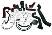 Wc Fab Twin Turbo Kit S400/stock For 2006-2007 Duramax Lbz Candy Purple