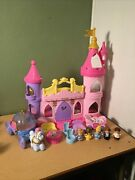 Fisher Price Little People Disney Princess Songs Palace Cinderella Figures Coach