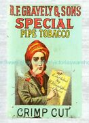 Home Decor Furnishing Gravely Special Pipe Tobacco Metal Tin Sign