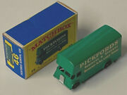 Quite Hard To Find Lesney Matchbox 46b Guy Pickfords Rear Bumper And Box E