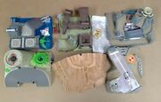 Galoob Micro Machines Military Miniature Toy Lot W/ Figures + Playsets Loose