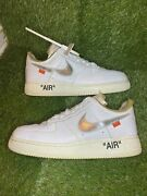 Off White Nike Air Force 1 Complexcon Exclusive Size 10