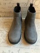Uggs Gray Suede Ankle Booties Size 6