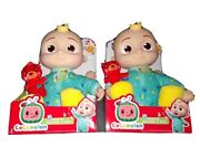 Cocomelon Musical Bedtime Jj Doll Lot Of 2