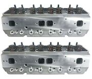 Complete Cnc Ported Aluminum Cylinder Heads Small Block Chevy .660 Lift Roller
