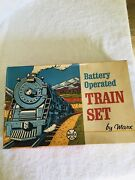 Vintage Battery Operated Train Set 1966 By Marx