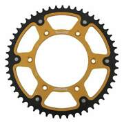 Supersprox Stealth Gold Rear Sprocket With 52 Teeth For Ktm Mxc 550 1994-1996