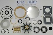 Major Repair Kit With Cam For Volvo Penta Pump 3829311 Tamd71a Tmd121c Tmd122a