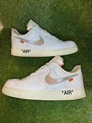 Off White Nike Air Force 1 Complexcon Exclusive Size 13