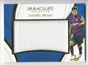 2018-19 Panini Immaculate Is-lm Lionel Messi Immaculate Standard Jersey 35/50