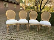 Set Of 4 Made By Order Chairs In French Louis Xvi Style. Worldwide Shipping