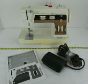 Vintage Singer Graduate Convertible-bed Zig-zag Stretch Sewing Machine 6705 Skuc