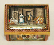 Rare Huge Halcyon Days Enamel Le137/750 Marriage Of Figaro Music Box Mint In Box