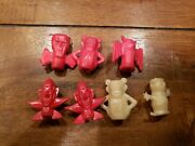 Vintage Boo Berry Count Chokula Frankenberry Pencil Toppers General Mills Red
