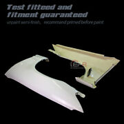 Type A Frp Front Vented Fender Body Kits For Nissan Skyline R33 Gts Kouki Late