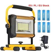 Led Work Light Rechargeable Portable Spotlight Outdoor Emergency Camping Garage