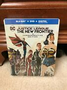 Justice League The New Frontier Commemorative Edition Steelbook Blu-ray/dvd New