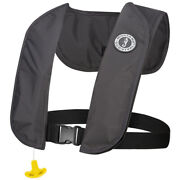 Mustang Mit 70 Inflatable Pfd Automatic - Admiral Grey