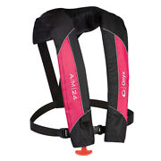 Onyx A/m-24 Automatic/manual Inflatable Pfd Life Jacket - Pink