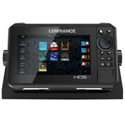 Lowrance Hds-7 Live W/active Imaging 3-in-1 Transom Mount Andamp C-map Pro Chart