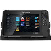 Lowrance Hds-9 Live W/active Imaging 3-in-1 Transom Mount Andamp C-map Pro Chart