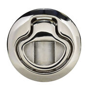 Southco Flush Pull Latch Pull To Open - Non-locking - Polished Stainless Steel
