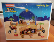 Fisher Price Little People Nativity Set 2008 Complete With Box N6010