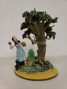 Dorothy And The Wicked Apple Tree Figurine Wizard Of Oz 2000 Franklin Mint Read