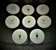 Pottery Barn Christmas Reindeer Coasters Pre-owned By The Late Doris Roberts