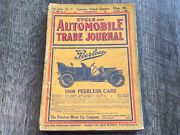 March 1909 Cycle And Automobile Trade Journal Magazine Motorcycle Auto