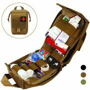 Tactical Molle Pouch First Aid Kits Survival Bag 1000d Nylon Military Waist Pack