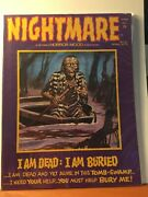 Nightmare 12 Skywald April 1973 - Fn 6.0 Bag And Board Horror Magazine