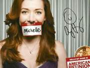 Actress Alyson Hannigan Autograph, In-person Signed Photo