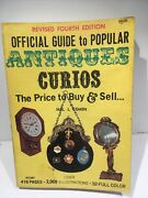 Official Guide To Popular Antiques Curios - Hal Cohen 1973, Paperback