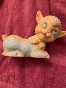 Vintage Rubber Lamb Baby Sheep Squeaky Squeaker Toy