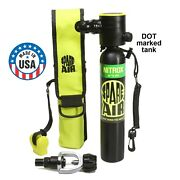 Spare Air 3.0 Nitrox -made In Usa-the Original Mini Scuba Tank For Divers And More