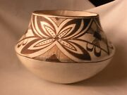 Acoma Pueblo Pottery With Unique Butterfly Motif Ca. 1950-and03968 - New Price