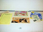 Various Ives Toy Train Paperwork-6 Items-all Reproduction