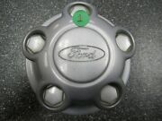 One 1 Oem 1997-2011 Ford Taxi Police Ranger Silver Center Cap F87a-1a096-ab