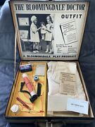 Very Rare Vintage The Bloomingdale Doctor Outfit Child's Toy Doll Play Set