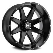 22 Hostile H109 Alpha Asphalt Wheels Qty 4