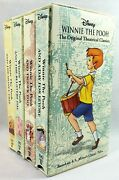 Disney Winnie The Pooh Storybook Classics Collection Vhs Movies Box Set A.a. Mil