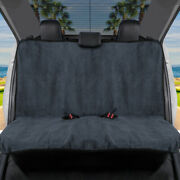 Gofit Waterproof Towel Car Seat Cover - Rear Bench Cover With Black Trim