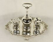 Reed And Barton Sterling Silver Inkstand Declaration Of Independence