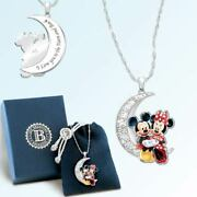 Disney Disney I Love You To The Moon And Back Pendant Necklace Bradford Exchange