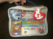 1999 Ty Beanie Babies Official Club Membership Kit Platinum Edition Never Opened