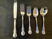 Towle French Provincial Sterling Silver Place 8 Settings 5 Pieces Per Setting